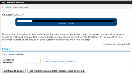 Figure 1: Customer Number
