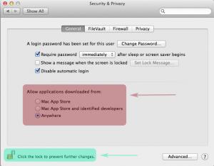 Enabling Mac Download