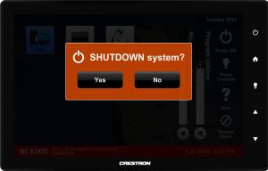 Shutdown System Verification